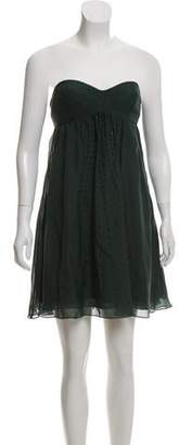 Haute Hippie Embellished Silk Dress w/ Tags