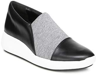 Via Spiga Women's Morgan Leather & Knit Platform Slip-On Sneakers