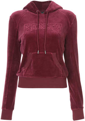FENTY PUMA by Rihanna velour hooded pullover