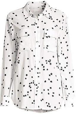 Equipment Women's Starry Night Slim Signature Shirt