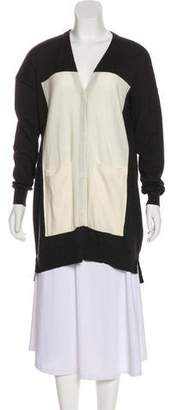 Maison Margiela Wool Long Sleeve Cardigan