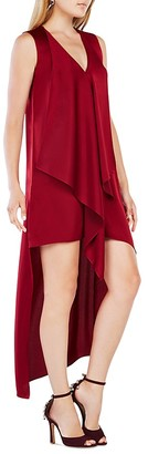 BCBGMAXAZRIA Tara High/Low Dress $198 thestylecure.com