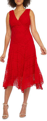 Rabbit Rabbit Rabbit DESIGN Design Sleeveless Lace Fit & Flare Dress