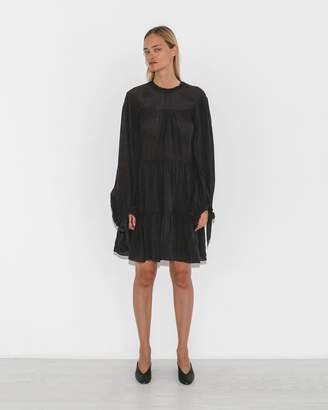 3.1 Phillip Lim Mulberry Short Gathered Dress