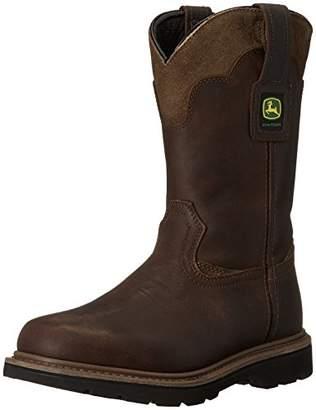 """John Deere Men's JD4148 11"""" Pull On Boot"""