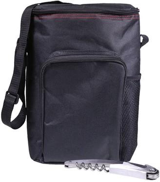 Natico Wine Tote Bag with Cork Screw
