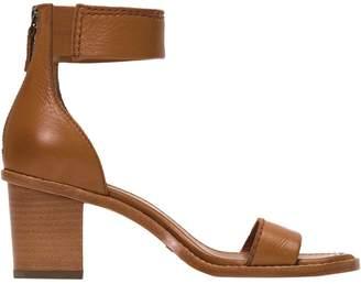 Frye Brielle Back Zip Sandal - Women's