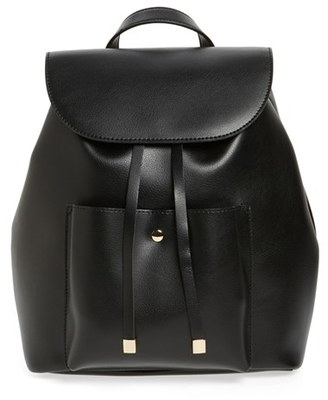 BP. Faux Leather Backpack $49 thestylecure.com