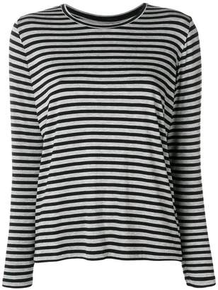 Majestic Filatures striped longsleeved T-shirt