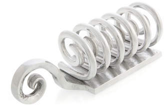 Aluminium Swirl Letter Stand