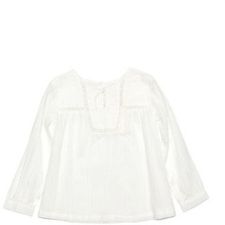 Kardashian Kids Girls 2-6x Cheesecloth Shirt $28.99 thestylecure.com