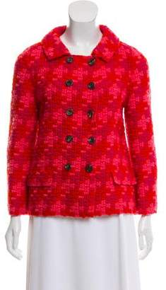 Marc Jacobs Wool & Silk Knit Jacket