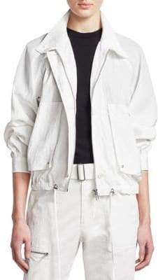 Helmut Lang Utility Parachute Short Trench Jacket