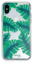 Casery Banana Leaves Phone Case for iPhone X/XS