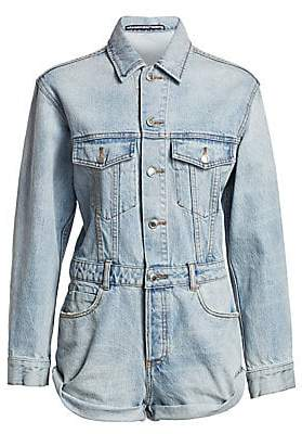 Alexander Wang Women's Denim Romper