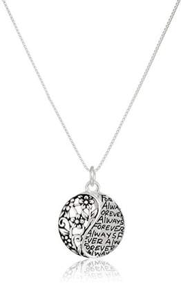 Sterling Sisters Forever Pendant Necklace