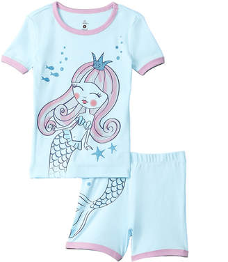 Petit Lem 2Pc Mermaid Pajama Set