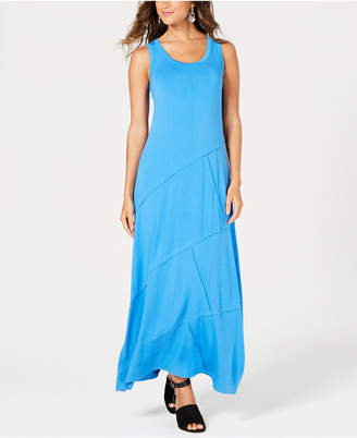 Style&Co. Style & Co Petite Exposed-Seam Maxi Dress