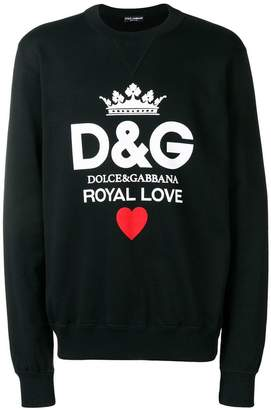 Dolce & Gabbana Royal Love sweatshirt