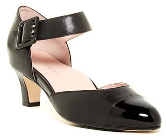Taryn Rose Toody Ankle Strap d'Orsay Pump $240 thestylecure.com