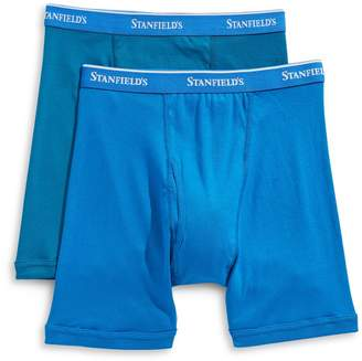Stanfield's Two Pack Cotton Boxer Briefs
