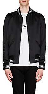 Givenchy Men's Reversible Satin Bomber Jacket - Black