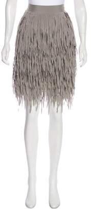 Brunello Cucinelli Knee-Length Tassel Skirt