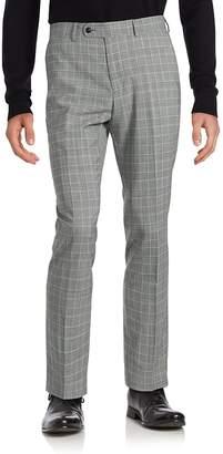 Original Penguin Men's Plaid Wool-Blend Dress Pants