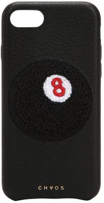 Chaos 8-ball Leather Iphone 7/8 Cover