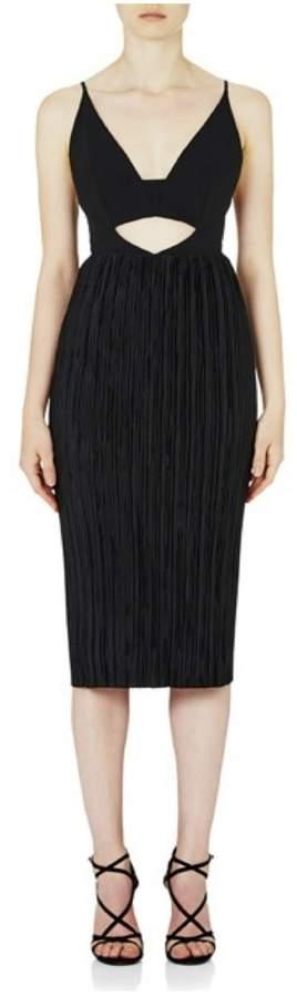 Rebecca Vallance Maggie May Cutaway Pleat Dress