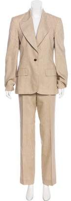 Stella McCartney Linen & Silk Pantsuit