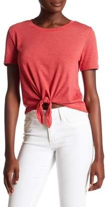 Alternative Short Sleeve Tie Front Tee $42 thestylecure.com