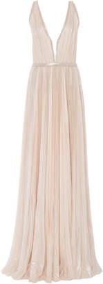 J. Mendel Kaia Silk Chiffon Gown