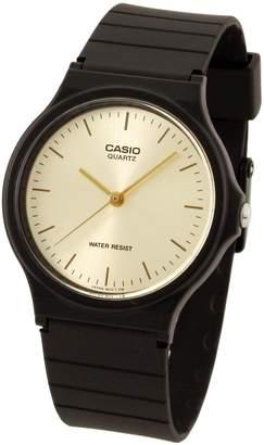 Casio Men's MQ24-9E Black Resin Quartz Watch with Dial