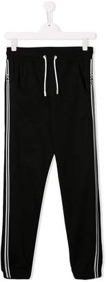 Gcds Kids TEEN side panelled track pants