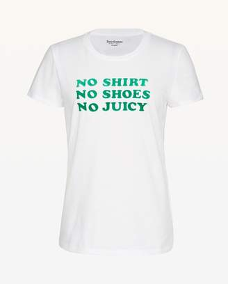 Juicy Couture No Shirt No Shoes No Juicy Tee