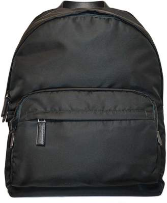 Prada Zip-pocket Logo Backpack