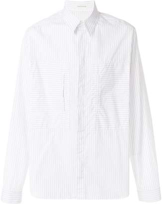 Cédric Charlier striped shirt