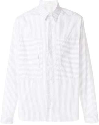 Cédric Charlier striped shirt