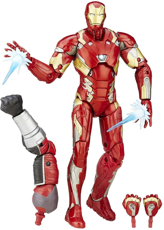 Captain America Civil War: Iron Man Mark 46
