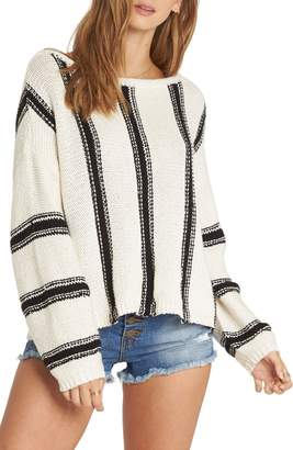 Billabong Calm Seas Stripe Cotton Sweater