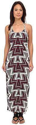 Free People Women's Serves You Right Printed Maxi Dress 0
