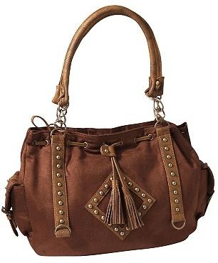Rivet and Tassel Bag