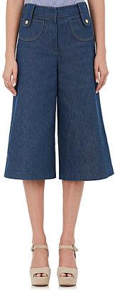 Derek Lam Women's Denim Culottes $650 thestylecure.com