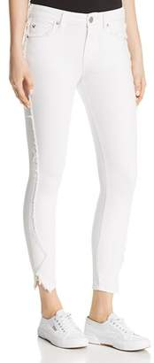 True Religion Jennie Curvy Skinny Crop Jeans in Optic White