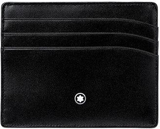Montblanc Meisterstuck leather credit card holder