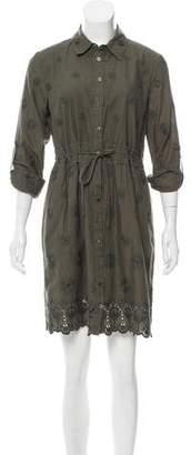 Diane von Furstenberg Eyelet Ivanka Dress