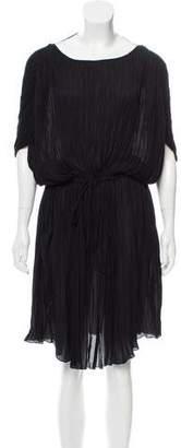 Gerard Darel Pleated Midi Dress