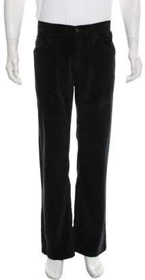 Dolce & Gabbana Velour Casual Pants