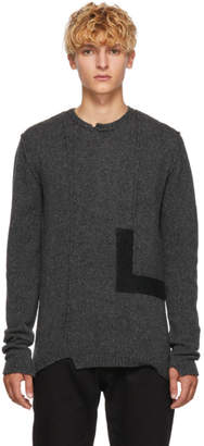 Isabel Benenato Grey Wool Sweater
